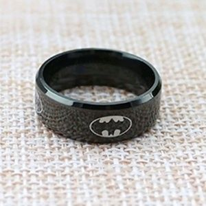 Other - Men's Black Batman Ring Size 10 & 14